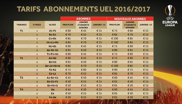 Europa league les rouches de l 39 orne for Piscine zaventem horaire